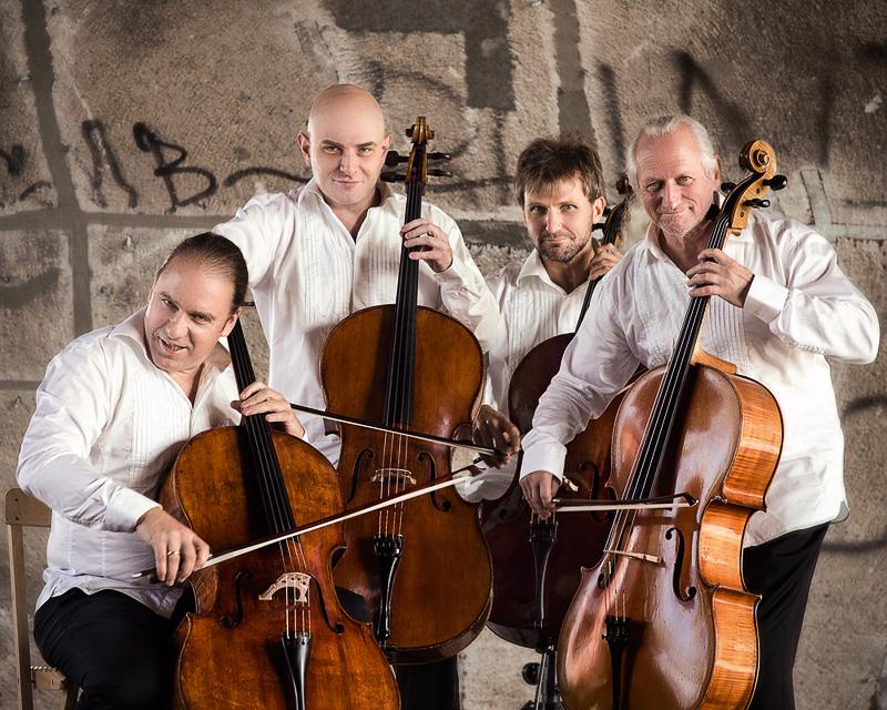 Rastrelli Cello Quartett, Foto: Stephan Haeger